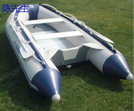 供应夹网船板拉丝板充气船折叠船划桨冲锋艇推进器船挂机船外机塑料船玻璃钢船