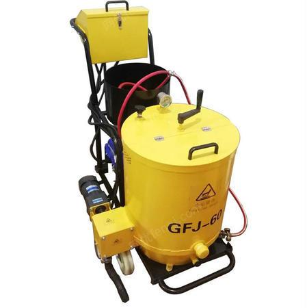供应沥青加热灌缝机 柏油路面修补机 牵引式裂缝灌缝机