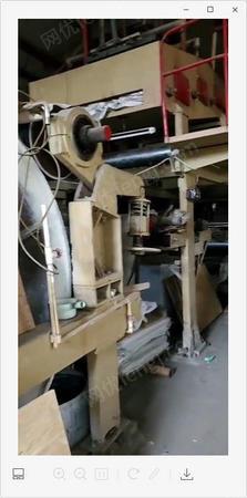 紙廠急需出售1092造紙設備1條線.鑄涂機1臺,玻璃卡紙機1臺