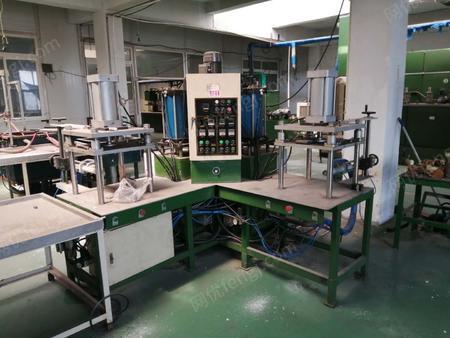 機械廠出售鑄造成套設備(中頻爐,拋丸機,混砂機,鑄業達注蠟機等)