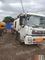 河北沧州转让精品10014车载泵.