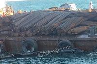 水湿沉船钢材约2600吨网络拍卖