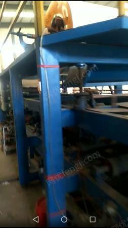 彩钢厂出售970泡沫复合板机1台