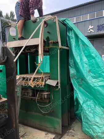 橡塑厂处理1*1 400吨平板硫化机1台