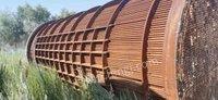 河北廊坊盘锦地区有200多吨换热器出售