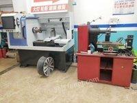 四川成都二手轮毂拉丝机,轮毂翻新,轮毂喷漆设备,9.9成新出售
