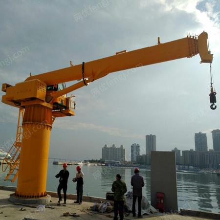 供应12吨船吊价格 12吨船用吊机配置 12吨码头吊 支持定制