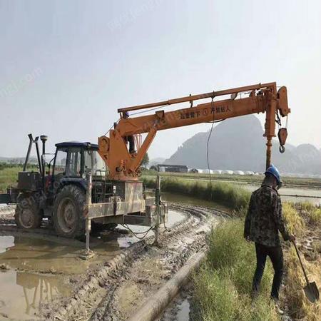 供应10吨拖拉机吊机 10吨拖拉机自备吊 价格便宜