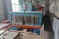 河北滄州轉讓門口尺寸2.1X0.85,6個11拋器,脈沖除塵器成新