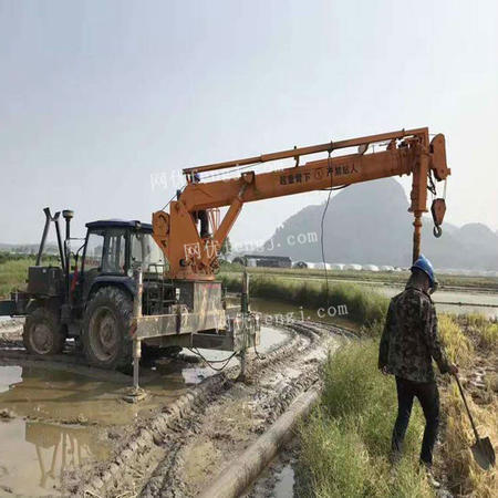 供应山东小型拖拉机吊 12吨拖拉机平板吊  12吨四驱拖拉机吊