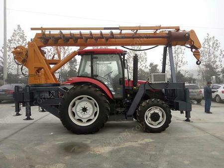 供应全新升级 8吨拖拉机越野吊参数 8吨四驱拖拉机吊车价格 农用吊车