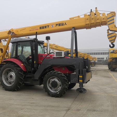 厂家定制12吨拖拉机吊车价格 12吨拖拉机牵引吊车参数 现车批发