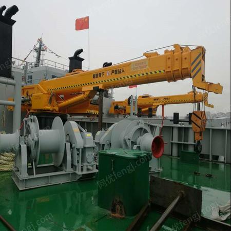 厂家直销福康吊车 16吨船吊 16吨码头吊报价 16吨船用起重机