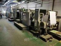 上海出售冠华564四开四色胶印机 秋山八色印刷机