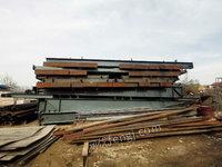 出售二手鋼構廠房庫房行車房,二手行車,各種型號鋼板,彩瓦