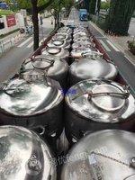 转让1000升316材质移动式储罐