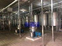 乳品发酵罐生产线转让
