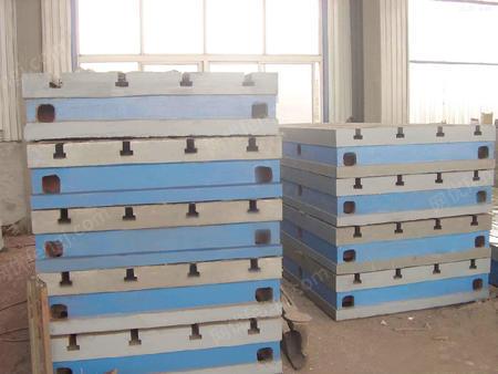 供应人工刮研工作台铸铁T型槽平台可按要求加工孔 可开T型槽 铸铁平台