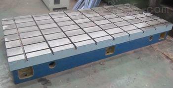 供应人工刮研工作台铸铁T型槽平台台面平整光滑 精度高 铸铁平台
