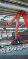 二手全包厢龙门吊16吨跨度21.9米出售