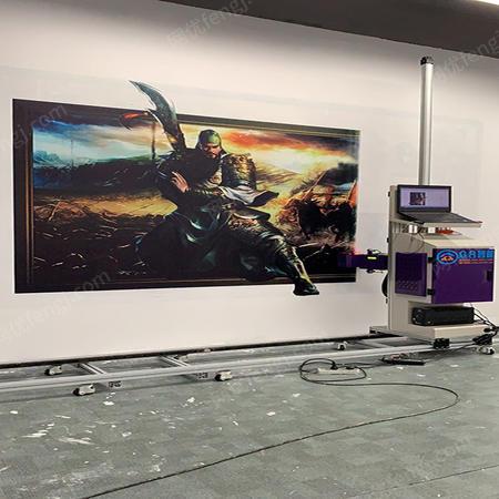 供应立式墙体喷绘墙面大型壁画广告打印机深圳
