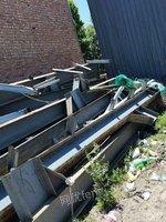 出售廠房 ]45.5米X150米X9米柱子400X200大梁600-800開間7.5米X20間檁條180圓管89鍍鋅