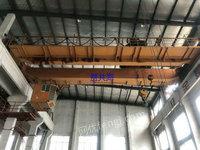 上海宝山区二手QD双梁行车32/5吨-16.5米出售