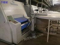 纺织厂转让二手特吕梳棉机清钢联一套
