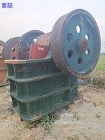 河北保定出售1台上海250*400鄂式破碎机