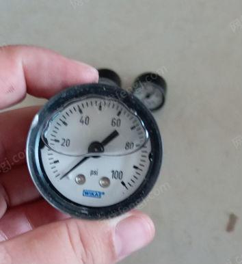 供应WIKA压力表 9738266高压氮气表