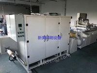 温州出售卷筒丝印机规格50X70cm和一台420型模切机!