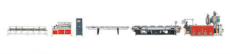 供应PPR/PE/PP一出二共挤高速管材挤出生产线管材设备