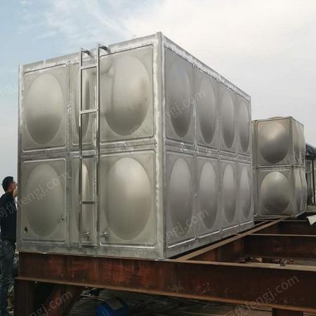 供应50吨100吨200吨不锈钢消防水箱