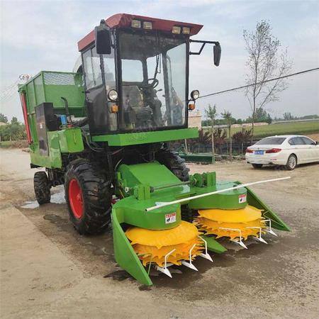供应全自动青储饲料打包机 u玉米秸秆青贮机 牧草收割机
