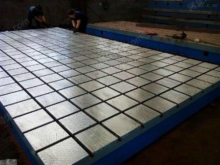 广东现货铸铁试验平台稳定性高配支架 精度高 装配平台