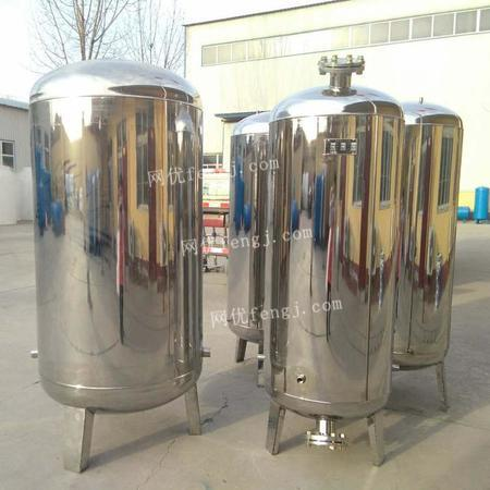 河北厂家直销家用1.2吨不锈钢 压力罐 无塔供水器设备
