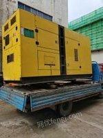 广东深圳帕金斯二手静音型发电机组120kw出售