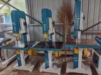 安徽安庆急转二手马氏细木带锯机 快速断料锯 木工生产设备