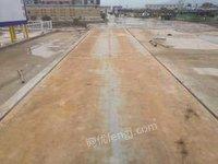 上海閔行區地磅2手磅舊磅16米18米噸位100噸可以上門安裝出售