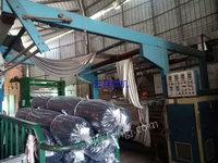 出售海宁2.2米门幅卧式4辊砂皮磨毛机
