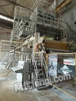长期出售和收购各种型号造纸机、制浆设备、后加工设备
