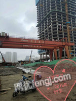 浙江杭州二手双主梁龙门吊ME45+16吨跨34.5米处理