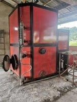 广西柳州出售二手的1吨燃柴和颗粒的蒸汽发生器