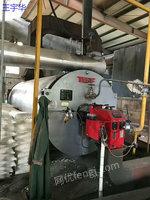 出售一台二手杭州特富160万大卡燃气导热油锅炉