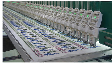 供应大型花边刺绣机厂