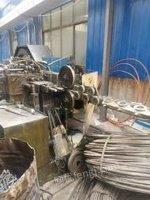 浙江宁波12毫米2模4冲冷镦机,模箱185长出售