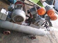 山东青岛无油空压机二保焊台钻切割锯攻丝机等设备处理