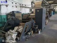 出售二手印刷设备1300型佳源热熔胶涂布复合机