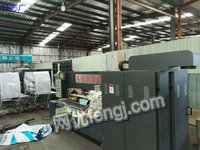 出售2000×210型高速双色印刷开槽机