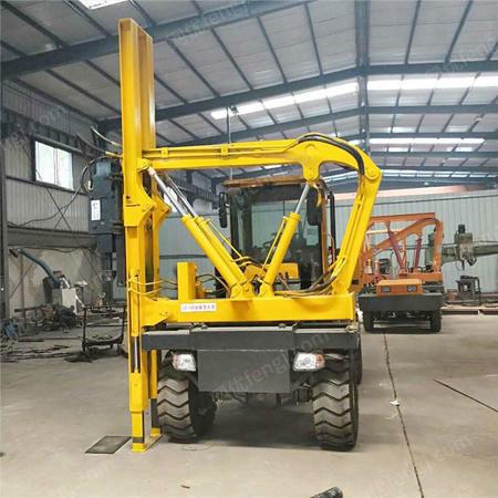 供应护栏打桩机价格 小型好打桩机厂家 高速路护栏打桩机 价格优惠